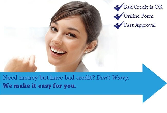 Bad credit? Don't worry